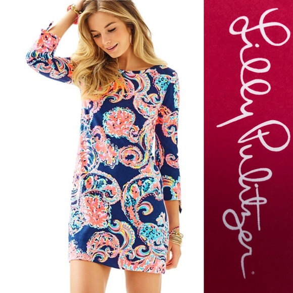 01d89692b19e4a Lilly Pulitzer Dresses | Pop Up For The Halibut Linden Dress | Poshmark